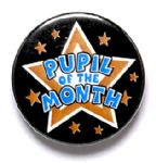 Pupil of the Month School Badge